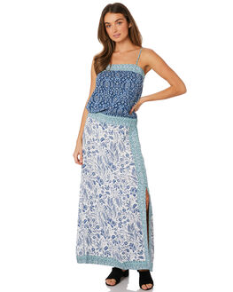 BLUE WOMENS CLOTHING TIGERLILY DRESSES - T391425BLU