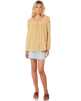 SAND WOMENS CLOTHING FREE PEOPLE FASHION TOPS - OB9039691102