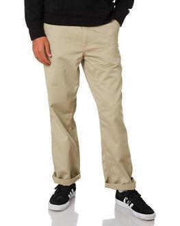 WALL RINSED MENS CLOTHING CARHARTT PANTS - I020075-G1WAL