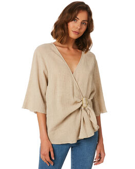 SAND TEXTURES WOMENS CLOTHING MLM LABEL FASHION TOPS - MLM470C-SAN