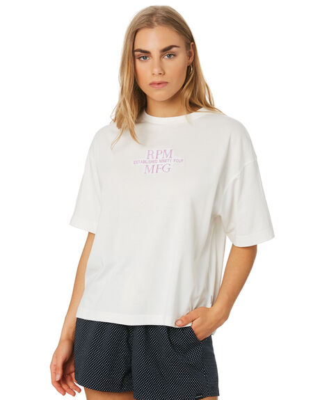 BONE WOMENS CLOTHING RPM TEES - 9SWT04A6BONE