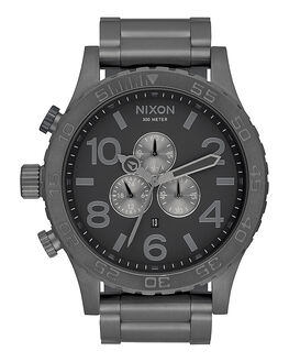 ALL GUNMETAL V MENS ACCESSORIES NIXON WATCHES - A083632