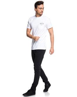 WHITE MENS CLOTHING QUIKSILVER TEES - EQYZT04957WBB0