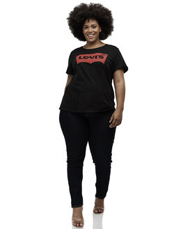 MINERAL BLACK WOMENS CLOTHING LEVI'S TEES - C35790-0003