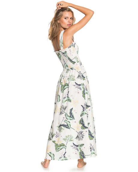 SNOW WHITE LARGE PRA WOMENS CLOTHING ROXY DRESSES - ERJWD03553-WBK8