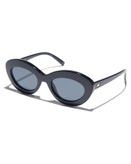 BLACK WOMENS ACCESSORIES LE SPECS SUNGLASSES - LSP1802156BLK
