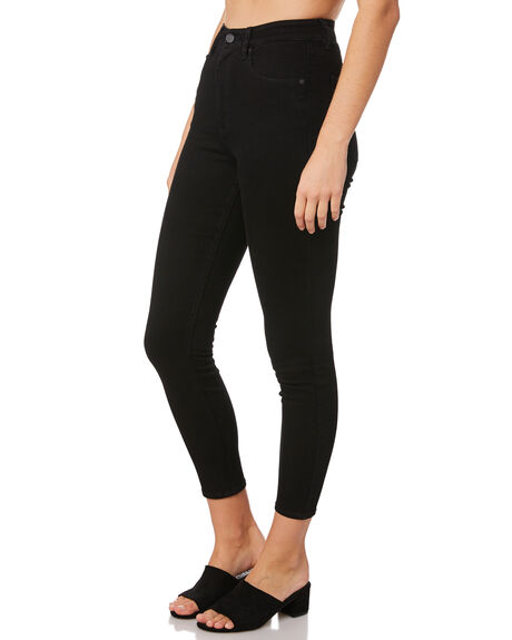 PREMIUM WASH BLACK WOMENS CLOTHING VOLCOM JEANS - B1931900PBK