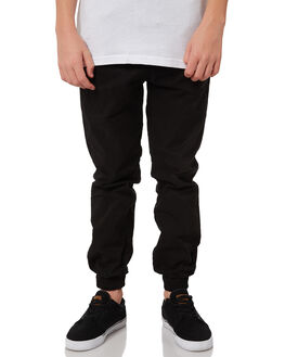BLACK KIDS BOYS SWELL PANTS - S3164191BLACK
