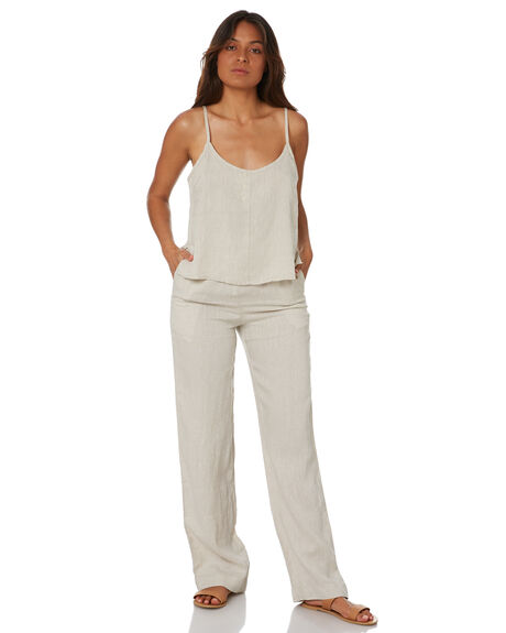 NATURAL WOMENS CLOTHING NUDE LUCY PANTS - NU23971NAT