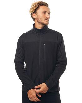 BLACK MENS CLOTHING DEPACTUS JUMPERS - D5171441BLACK
