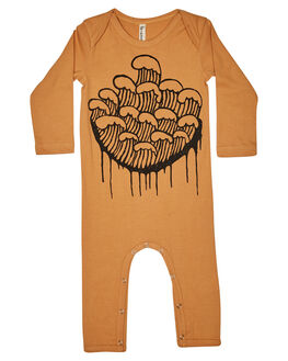 EARTHY CARAMEL KIDS BABY ISLAND STATE CO CLOTHING - MARCHINGNESIE-ERTHC