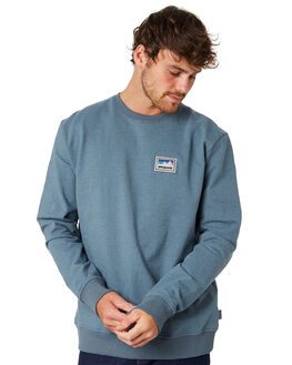 SHADOW BLUE MENS CLOTHING PATAGONIA JUMPERS - 39541SDAB