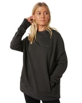 MERCH BLACK WOMENS CLOTHING THRILLS JUMPERS - WTW8-215MBMBLK