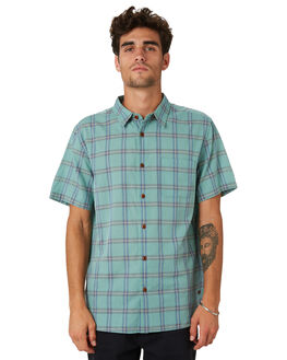 PON ILLUSION PLAID OUTLET MENS OUTERKNOWN SHIRTS - 1310127PIP