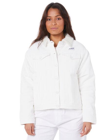WHITE OUTLET WOMENS MISFIT JACKETS - MT105703WHT