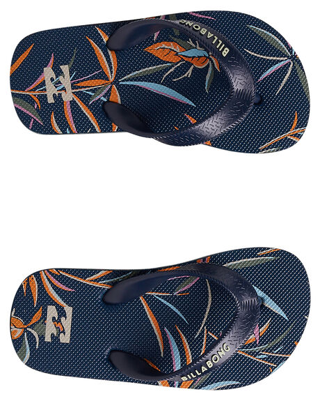 NAVY KIDS BOYS BILLABONG THONGS - 7692947NAVY