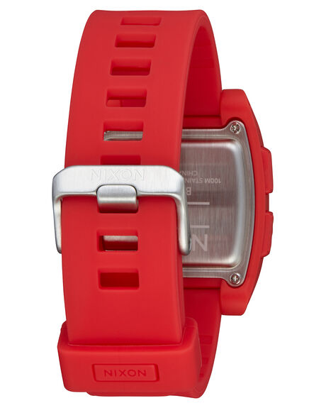 RED MENS ACCESSORIES NIXON WATCHES - A1104-200-00RED
