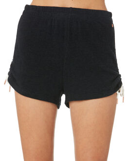 BLACK WOMENS CLOTHING VOLCOM SHORTS - B0931803BLK