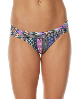 MULTI WOMENS SWIMWEAR TIGERLILY BIKINI BOTTOMS - T371621MUL