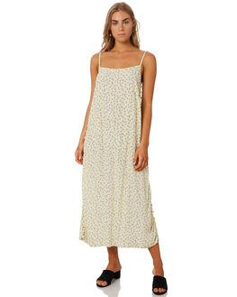 FLORAL SCATTER LEMON WOMENS CLOTHING MLM LABEL DRESSES - MLM612DFLRLM