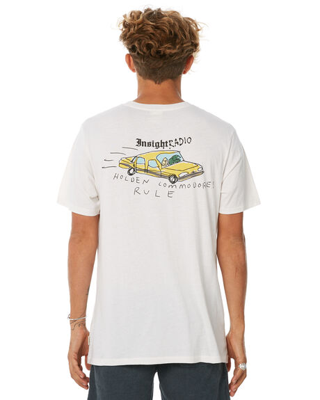 WHITE MENS CLOTHING INSIGHT TEES - 5000001842WHT