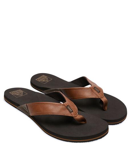 TAN MENS FOOTWEAR REEF THONGS - CI3754TAN