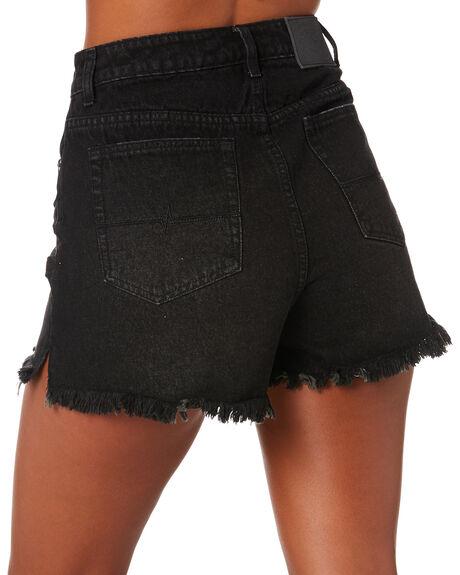 ACES BLACK WOMENS CLOTHING RUSTY SHORTS - WKL0683ACB