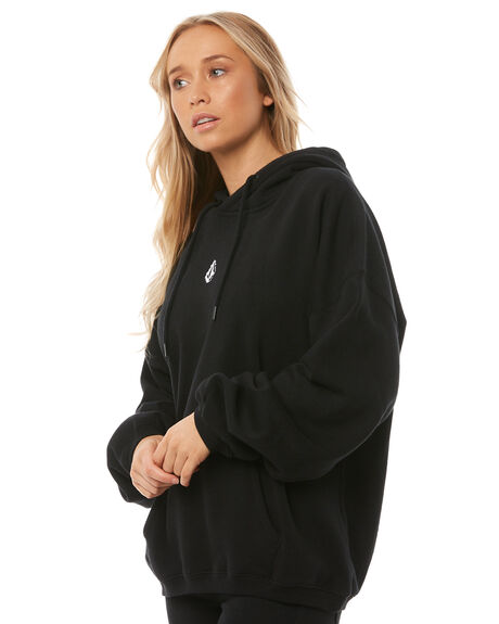 BLACK WOMENS CLOTHING VOLCOM JUMPERS - B3111806BLK