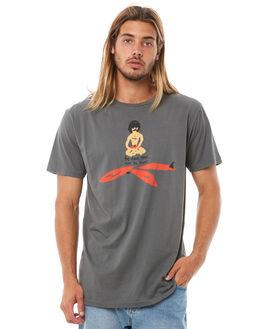 CHARCOAL MENS CLOTHING ALOHA ZEN TEES - AZ502CHAR