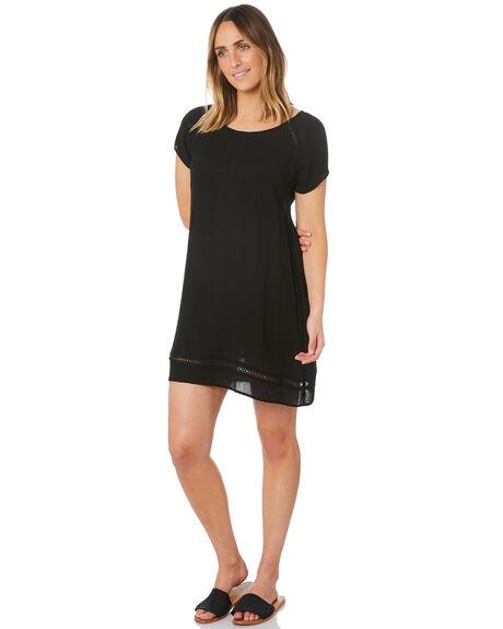 BLACK WOMENS CLOTHING RIP CURL DRESSES - GDRIM10090