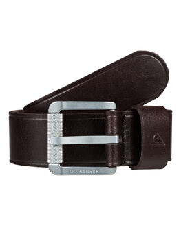 CHOCOLATE MENS ACCESSORIES QUIKSILVER BELTS - EQYAA03829-BRN