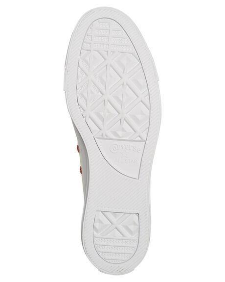 EGRET WOMENS FOOTWEAR CONVERSE SNEAKERS - 163283EGRT