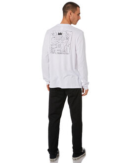 WHITE MENS CLOTHING HERSCHEL SUPPLY CO TEES - 50029-00466