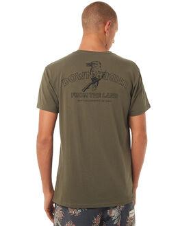 OLIVE MENS CLOTHING RHYTHM TEES - DEC17M-SS08OLIVE