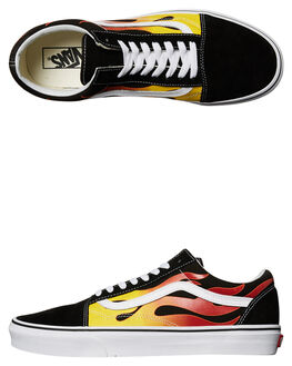 BLACK WHITE MENS FOOTWEAR VANS SNEAKERS - VN-A38G1PHNMUL