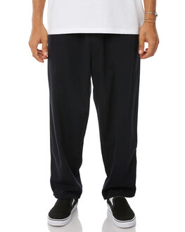 BLACK MENS CLOTHING POLAR SKATE CO. PANTS - PSC-SURF-BLK