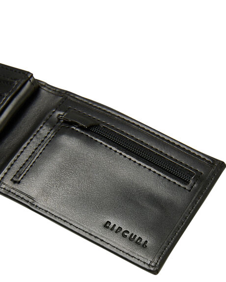 BLACK MENS ACCESSORIES RIP CURL WALLETS - BWUOH10090
