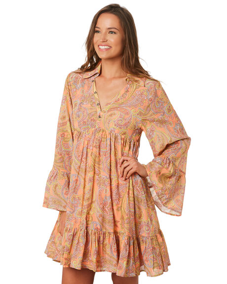 PINK OUTLET WOMENS TIGERLILY DRESSES - T392404PINK