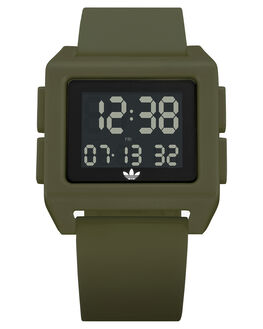 RAW KHAKI MENS ACCESSORIES ADIDAS WATCHES - Z15-3118