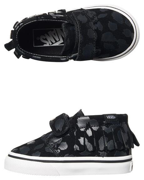 BLACK KIDS TODDLER GIRLS VANS FOOTWEAR - VN00308ONXBLK