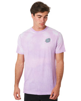 LILAC MENS CLOTHING SANTA CRUZ TEES - SC-MTC9273LILAC