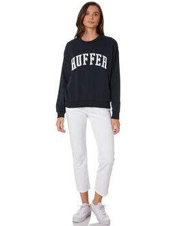 INDIGO WOMENS CLOTHING HUFFER JUMPERS - WCR92S47-344IND