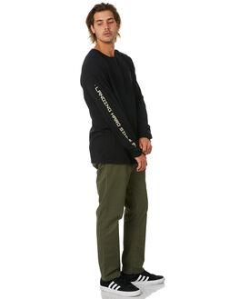 BLACK MENS CLOTHING GLOBE TEES - GB02030010BLK