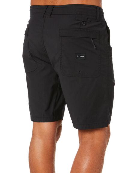 BLACK MENS CLOTHING RIP CURL SHORTS - CWABD90090