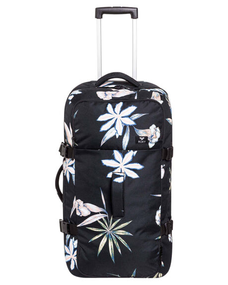 BLACK FLOWERS WOMENS ACCESSORIES ROXY BAGS + BACKPACKS - ERJBL03139KVJ8