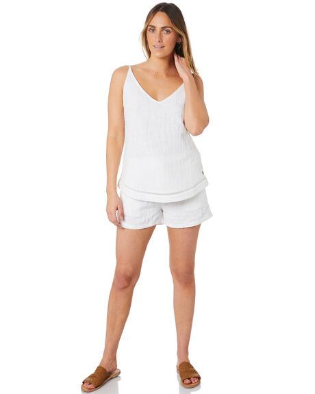 WHITE WOMENS CLOTHING RIP CURL SHORTS - GWABY91000