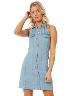 BLUE WOMENS CLOTHING INSIGHT DRESSES - 5000001952BLU