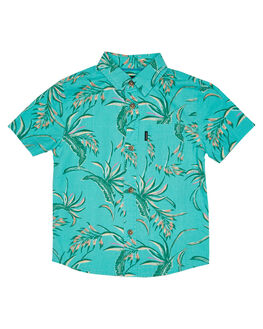 WASHED TEAL KIDS BOYS RIP CURL TOPS - OSHMU19743