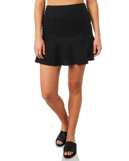 BLACK WOMENS CLOTHING ALL ABOUT EVE SKIRTS - 6423062BLK