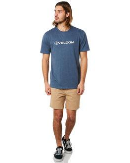 SMOKEY BLUE MENS CLOTHING VOLCOM TEES - A5041871SMB